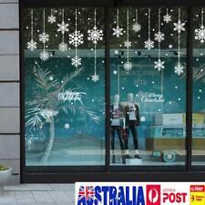 White-snow Snowflake Frozen Decal Window Wall Sticker Winter Christmas Decor