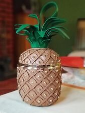 """KATE SPADE ♤ NEW YORK BY THE POOL """"PINEAPPLE BAG"""" NWT HARD TO FIND"""