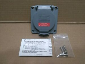 Hubbell Wiring Device-Kellems HBL2430SW 20A Watertight Twist-Lock Receptacle 3P