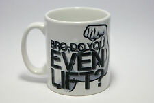 Bro Do You Even Lift Mug Bodybuilder Weightlifting Gym Fitness Gift Christmas