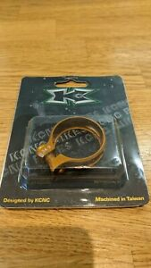 KCNC seatpost clamp 34.9mm Gold