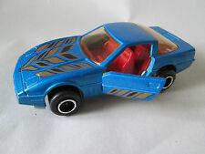1980 Majorette 1:57 Blue Chevrolet Corvette Sports Car #215-268 France (Mint)