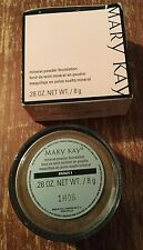 Mary Kay Mineral Powder Foundation~ .28 oz/ 8 g ~ Bronze 3 ~New In Box