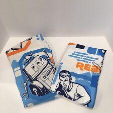 Star Wars Rebels Twin Sheet Set Blues Orange White