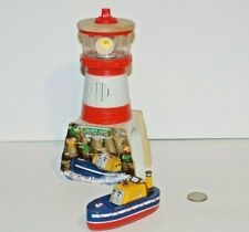 Thomas & Friends Train Tank Wooden Railway - Bluff's Cove Lighthouse w/ Captain