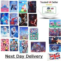 "Stitch All Hero Mermaid Tablet Case For Samsung Galaxy Tab E 8"" 9.6"" Kids Cover"
