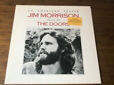 JIM MORRISON AN AMERICAN PRAYER JIM MORRISON. ORIGINAL FIRST PRESS LP PROMO 1978