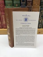 Easton Press Library of the Presidents ~ Grover Cleveland ~ Rexford G. Tugwell