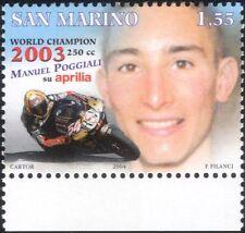 San Marino 2004 M Poggiali/Motorcycle/Motor Bike/Bikes/Sport/Transport 1v n44763