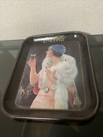 Vintage Coca Cola Party Girl Flapper Serving Tray
