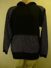 New Mens Beautiful Giant Athletic black pullover hoodie Sweatshirt skulls sz XL