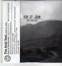 (CW647) Rob St John, The Acid Test - 2012 DJ CD