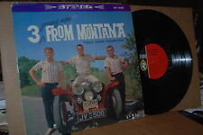 3 YOUNG MEN FROM MONTANA: FOLK SONG FAVORITES 1962 CAMEO 1025 VG++ LP; NOT ON CD