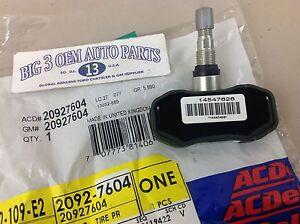 07-12 Chevrolet Colorado GMC Canyon 06-10 Hummer H3 Tire Pressure Sensor new OEM