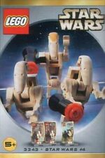 LEGO Star Wars 2 Battle Droids and Command Officer (3343)