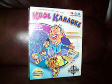 NEW Kool Karaoke Step Into the Limelight Microphone 50 Karaoke Songs CD ROM