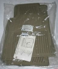 2007/2008 Infiniti G35 Rubber Floor Mats - GENUINE FACTORY OEM ACCESSORY - BEIGE