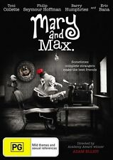 Mary And Max - TONI COLLETTE / ERIC BANA - (DVD, 2009) NEW & SEALED
