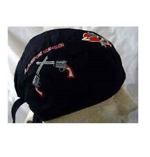 DEATH BEFORE DISHONOR Military Skull DOO DO RAG FITTED BANDANA Head Wrap Cap