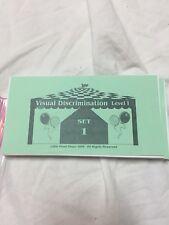 Little Giant Steps Digit Span Or Visual Discrimination Cards, Level One Sets 1-3