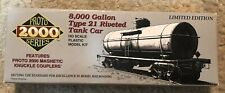 New Life Like HO Scale 8000 Gallon Type 21 Riveted Tank Car 21750 APOX #8217 NOS