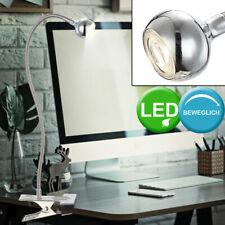 LED Esribir Mesa Pinza Foco Iluminación Salón Ess Habitación Lectura Flexo Luz