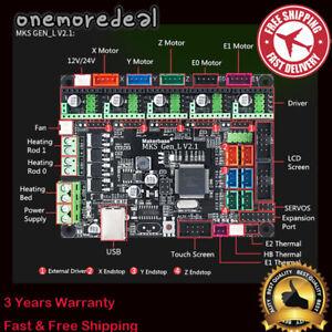GEN-L V2.1 MKS Smoothieboard 3D Printer Control Board Motherboard for Marlin MKS