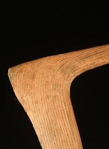 Old Aboriginal Fighting Boomerang No 7 Boomerang Swan Neck Boomerang