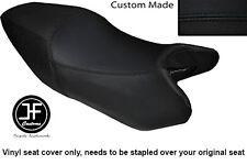 BLACK AUTOMOTIVE VINYL CUSTOM FITS HONDA VTR 250 97-07 DUAL SEAT COVER ONLY