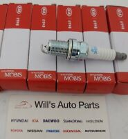 GENUINE BRAND NEW SPARK PLUG 4EA SET SUITS KIA MAGENTIS 2.4L PETROL 2005-2006
