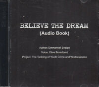 Believe The Dream Emannanuel Sodipo Inspirational Motivational Quotes 2CD Audio