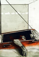Untitled, um 1965. Grosse Aquatinta von Joachim PALM (*1936 D), handsigniert