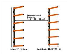 HTC PBR-001 Portamate Wood Storage Lumber Organizer Rack, Wall Mount , New, Free