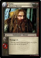 LOTR TCG 0P62 Gimli Dwarven Delegate Exclusive Decipher Store Promo Card scarce