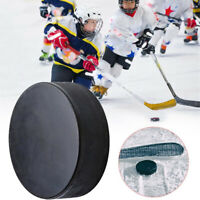 Hockey Puck Bulk Blank Ice Official Regulation Rubber Black Replacement Spare