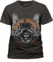Official Sons Of Anarchy Winged Logo T Shirt Unisex Samcro Biker Clay Morrow