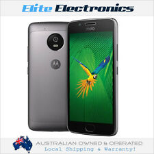 "MOTOROLA MOTO G5 GREY 5"" DISPLAY 16GB 2GB RAM 4G/LTE UNLOCKED SMARTPHONE XT1676"