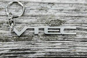 VTEC keychain honda civic crx accord JDM stainless steel schlüsselanhanger