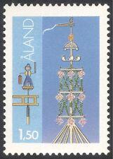 Aland 1984 Midsummer Pole/Maypole/Festivals/People 1v TYPE I (n43697)