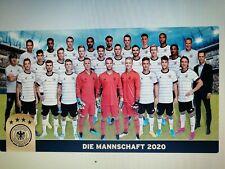2 x Teamsticker Mannschaft Codes für beide Mannschaftsbilder U21 Ferrero EM 2020