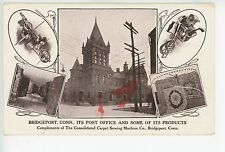 Bridgeport & Its Products—Antique Advertising PC Carpet Sewing Machine Co 1907