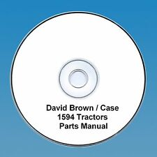 David Brown / Case 1594 Tractors  Parts Manual PDF CD