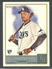 2011 Topps Allen & Ginter's - Rookie - #276 - Desmond Jennings - Tampa Bay Rays
