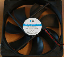 CIT DC Brushless Cooling PC Case Fan 80mm 8cm 3 pin power 12v 0.16A NEW