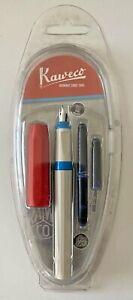 Kaweco Perkeo Fountain Pen Medium Nib Blue Ink - Various Styles