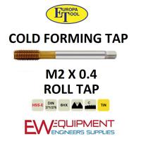 M6 x .75 Dia-D6-HSS-CO-V Coating-Forming Tap
