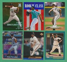 (6) card Livan Hernandez lot Metal Upper Deck Topps Stadium Club Gallery Marlins