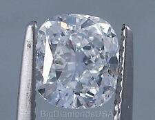 1.71 CARATS CUSHION CUT CERTIFIED LAB GROWN DIAMOND D VS2