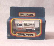 MJ7  Matchbox - L.E. - MB35 4 X 4 Pick-Up Camper - White - SLD Pumps