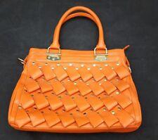 Melie Bianco Orange Handbag /Extra Large
